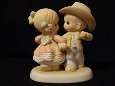 Precious Moments-YEEHAH Cowboy/Cowgirl Square Dancing    #455733
