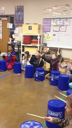 "This is ""Christmas Bucket Drumming"" by Kristen Eriksen on Vimeo, the home for high quality videos and the people who love them. Drum Lessons, Lessons For Kids, Music Lessons, Bucket Drumming, Middle School Music, Music Lesson Plans, Elementary Music, Elementary Christmas Concert, Music For Kids"