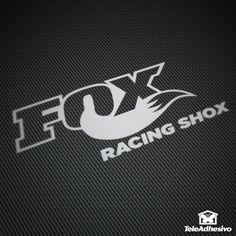 Pegatina Fox Racing Shox #fox #pegatina #adhesivo #tuning #moto #TeleAdhesivo