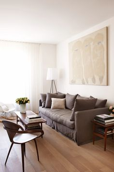Living Room. From the Living With Kids Home Tour featuring Hallie Burton.