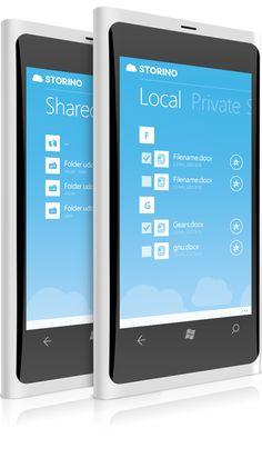 Storino.pl Windows Phone App on Behance
