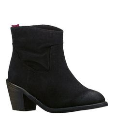 Take a look at this Black Aloft Ankle Boot by Skechers on #zulily today!  $39.99
