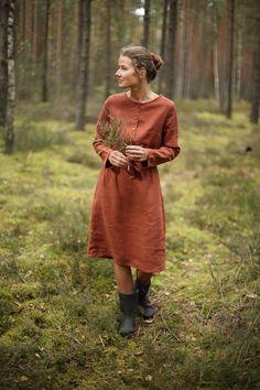 Winter Linen Dresses