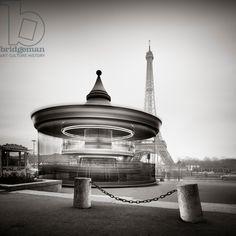 Tour Eiffel - Study 2, Paris, France, 2013 (b/w photo) / Photo © Ronny Behnert / Bridgeman Images