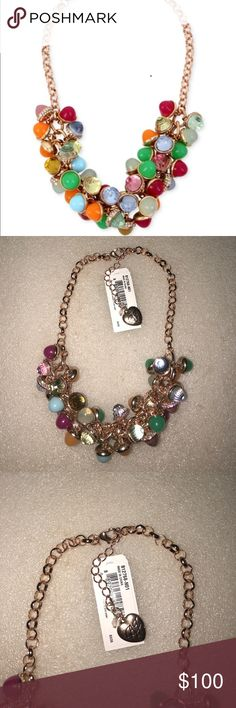 Betsey Johnson necklace Selling to buy Betsey pieces I need. This is from the shakey collection. The charms include lots of beads of different colors. NWOT Betsey Johnson Jewelry Necklaces