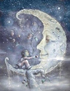 illustration by James Christopher Carroll for his book, The Boy and the Moon Sun Moon Stars, My Sun And Stars, Fantasy Kunst, Fantasy Art, Sweet Pictures, Moon Pictures, Photo D Art, Good Night Moon, Moon Magic