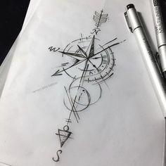 """755 curtidas, 3 comentários - Renan Arts Tattoo (@renanartstattoo) no Instagram: """"""""No caminho e tempo certo!"""" Orçamentos pelo whatsapp (11) 974487229 #love #art #tattoo #tattoos…"""""""