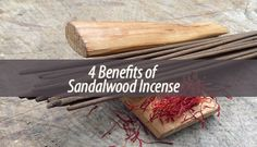 By burning sandalwood incense you get a fragrant and woodsy smell that is pleasant and relaxing. Incense is a much safer alternative than air fresheners.