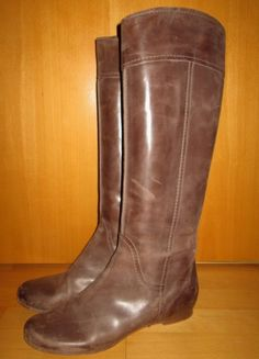 * * * Chloé Stiefel braun used Look, * * * Riding Boots, Chloe, Detail, Ebay, Fashion, Clothing Accessories, Ladies Shoes, Horse Riding Boots, Moda