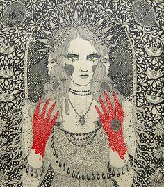 Daria Hlazatova - Kate Fleetwood as Lady Macbeth