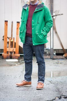 Early-1980s Dad Reinterpreted Jacket: The North Face, thrifted... - Broke and Bespoke