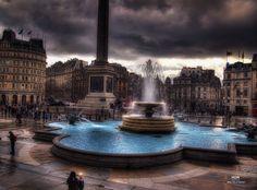 Trafalgar Square by Niels Jørn Buus Madsen, via 500px