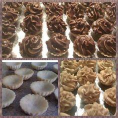 Obrázek z Recept - Karamelové košíčky s ořechovou náplní
