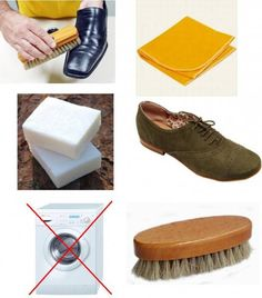 como limpar um sapato