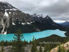 Peyto Lake, Banff National Park, Icefields Parkway, Canadian Rockies, AB, Canada
