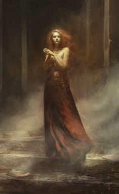 Fantasy Art Watch — Smoke by Bastien Lecouffe Deharme