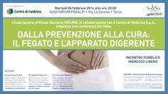 DALLA PREVENZIONE ALLA CURA: IL FEGATO E L'APPARATO DIGERENTE  http://www.medicinamoderna.tv/dalla-prevenzione-alla-cura-il-fegato-e-l%E2%80%99apparato-digerente