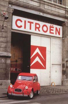1988 Citroen 2CV in red • citroen 2CV club