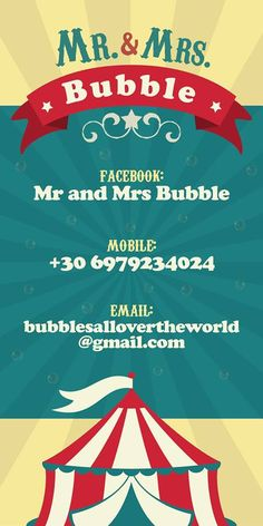 Mr and Mrs Bubble