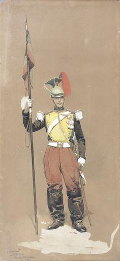 Lancier de la Garde Impériale du Second Empire