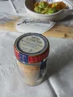 Tè verde e pasticcini: { Pasta } - Spaghetti con zucchine al tegame e bottarga di tonno Campisi