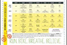 12 week duathlon training program for beginners  fitness