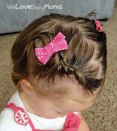 Mothers of little girls often dream of the days when they can start styling their daughter's hair. If you're like me, you are 2 years in and just now starting to have enough hair to work with. Conversely, some baby …