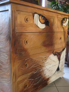 Hand Painted Furniture: Bohemian, Shabby Chic, Table Tops etc. Whimsical Painted Furniture, Painted Chairs, Hand Painted Furniture, Funky Furniture, Refurbished Furniture, Paint Furniture, Repurposed Furniture, Furniture Projects, Furniture Makeover