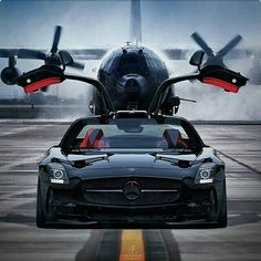 Cars Discover Ready to fly with wings up. Mercedes Benz SLS AMG check it ! Mercedes Sls, Mercedes Sport, Maserati, Supercars, Dream Cars, Jet Privé, Car Wheels, Sexy Cars, Amazing Cars