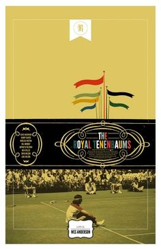 Wes Anderson - The Royal Tenenbaums / A CUP OF JO: Movie posters