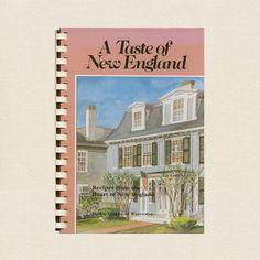 Taste of New England Cookbook - Junior League of Worcester, Massachusetts