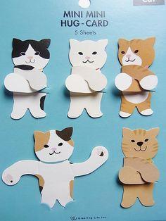 Tiny kitten message card von KICOLI auf Etsy, $9,50