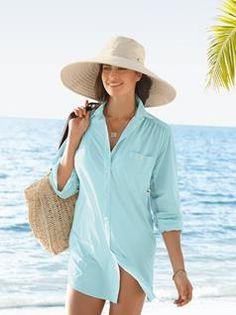Women's Big Shirt, Solumbra® by Sun Precautions®