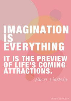 imagination, Albert Einstein, law of attraction, the secret, believe, inspire, life, karma #LawofAttraction
