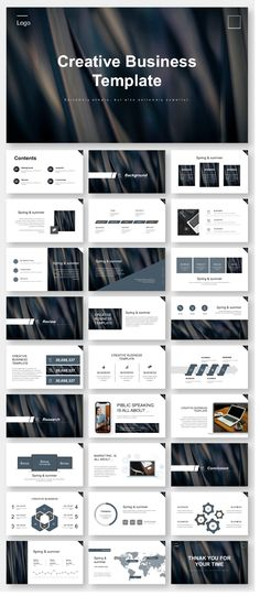 Annual Report Business Powerpoint Template – Original and high quality PowerPo… - Design Web Design, Slide Design, Resume Design, Brochure Design, Page Design, Design Layouts, Cover Design, Graphic Design, Template Web
