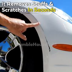 Magic Scratch Eraser 🔥 ⚠️ Attention Car Owners ⚠️ Save a TON of money with this Scratch Eraser. Scratches will magically disappear from your car in just a few minutes! Every driver needs this. Car Cleaning Hacks, Car Hacks, Simple Life Hacks, Useful Life Hacks, Remove Dents From Car, Whatsapp Tricks, Car Gadgets, Cool Inventions, Diy Car