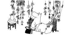 Finn Family Moomintroll, by Tove Jansson Moomin Tattoo, Moomin Books, Moomin Valley, Tove Jansson, Hobgoblin, Artists For Kids, Manga Illustration, Fancy, Fairy Tales
