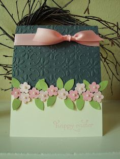 Pretty Easter card