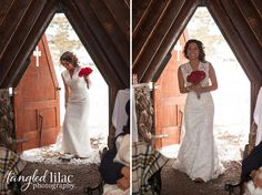 Charlotte and Kyle's Intimate Winter Wedding  #Flagstaff #Arizona #WinterWedding #ChapleoftheHolyDove #WeddingPhotography #Tangledlilacphotography