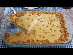 Karamelli bor cam tatlısını yiyen bağımlısı oluyor. Bu tatlı aslında bir pasta tarifi. Her damak zevkine uyan ve herkesin severek yediği tatlının iç ve Bread, Recipes, Aspirin, Food, Youtube, Pies, Turkish Recipes, Caramel, Kuchen