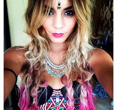 5 celebs and their festival-ready beauty looks: Vanessa Hudgens