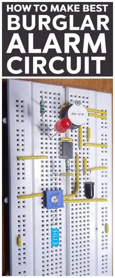 A burglar alarm system is designed to detect an unauthorized entry into a house or area. Burglar alarm systems can be used in residential buildings, commercial buildings, offices, industries and even in military locations.