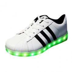 Stripe LED Light Up Shoes