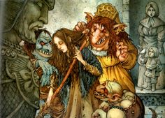 east of the sun west of the moon mercer mayer - Google Search Mercer Mayer, East Of The Sun, Nordic Vikings, Snow Maiden, Maurice Sendak, Kobold, Found Art, Fantasy Images, Magical Creatures