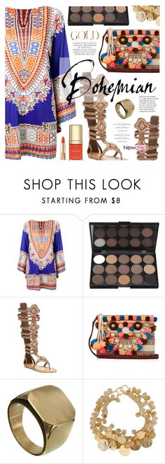 """""""Bohemian"""" by noviii ❤ liked on Polyvore featuring Liliana, Figue, Dolce&Gabbana, Kenneth Jay Lane and Magdalena"""