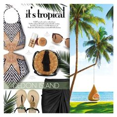 DEDON ISLAND by lilith1521 on Polyvore featuring Mara Hoffman, WAIWAI, Marni, Benefit, Caudalà e, Philippines, dedon, BeachPlease and vacayoutfit