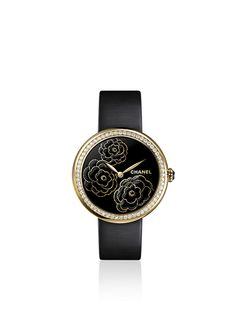 CHANEL MADEMOISELLE PRIVÉ MADEMOISELLE PRIVÉ CAMÉLIA watch