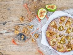 Fig cake with figs By sonyakamoz¡¯s photos , Fig Pie, Plum Pie, Blueberry Ice Cream, Peach Ice Tea, Vegetarian Recipes, Cooking Recipes, Fresh Figs, Cooking Ingredients, Beef Steak
