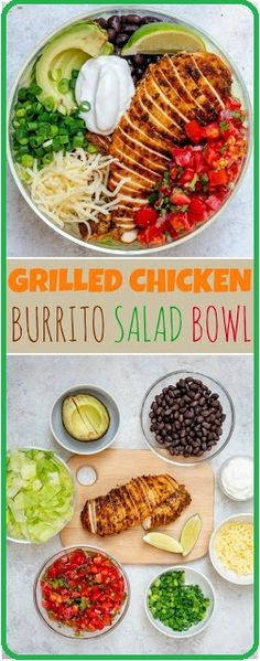 Grilled Chicken Meal Prep Bowls 4 Creative Ways for Clean Eating Grilled Chicken Meal Prep Bowls 4 Creative Ways for Clean Eating! – Clean Food Crush More from my site Grilled Chicken Meal Prep Bowls 4 Creative Ways for Clean Eating! Chicken Meal Prep, Chicken Eating, Bbq Chicken, Grilled Chicken Salad, Cashew Chicken, Bruschetta Chicken, Chipotle Chicken, Chicken Ideas, Clean Eating Recipes For Dinner