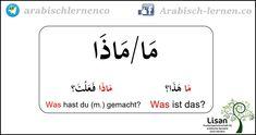 """""""Was?""""  arabisch-deutsch"""